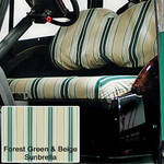 Sunbrella Seat Covers Forest Green